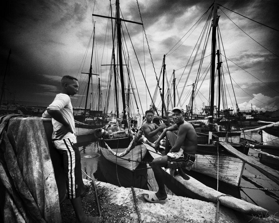 Port Aux Boutres Majunga Madagascar