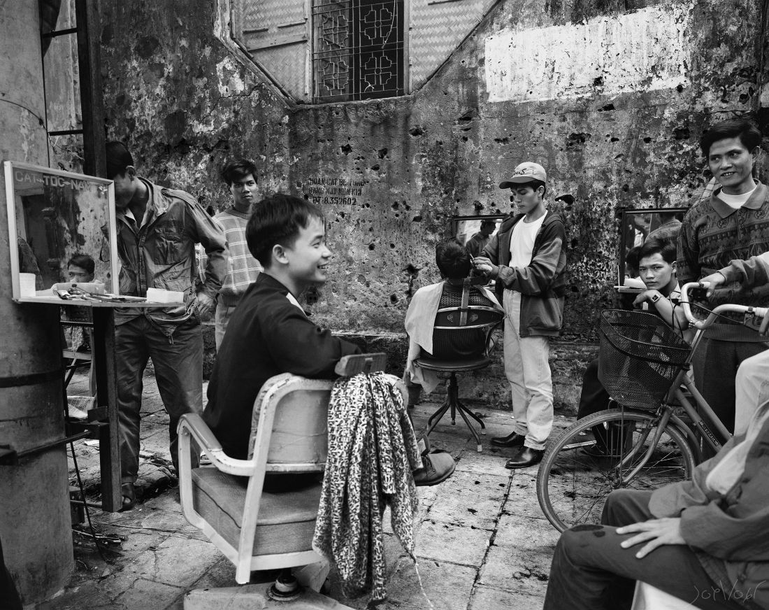 Barbiers Hanoi Vietnam