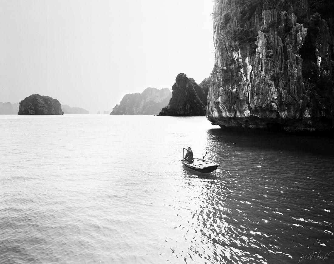 Sampan Baie D Along Vietnam